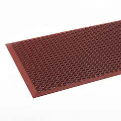 Safewalk-Light Heavy-Duty Antifatigue Mat, Rubber, 36 x 60, Terra Cotta CROWSCT35TCO