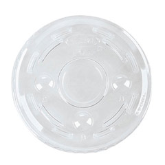Portion Cup Lids for 1/2-1 oz Containers, Clear, 125/Sleeve DCC100PCL25