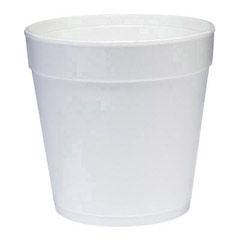 Insulated Foam Food Container, White, 32 oz, 25/Bag DCC32MJ48