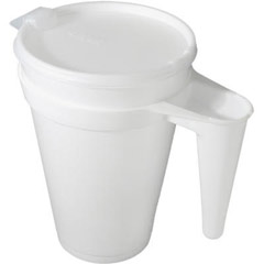 PS Plastic Lids, Fits 16-44oz Cups, Translucent DCC32PL