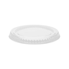 Portion Cup Lids, 3.25-5.5oz Cups, Clear DCC400PCL