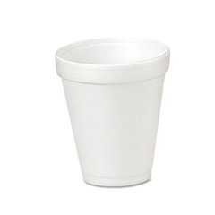 Drink Foam Cups, 4 oz DCC4J4