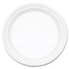 Famous Service Plastic Dinnerware, Plate, 6