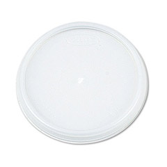 Plastic Lids, for 8 oz. Hot/Cold Foam Cups, Vented DCC8JL