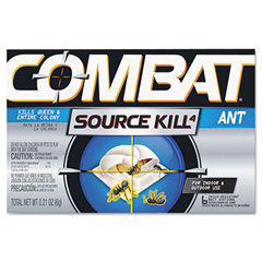 Combat Ant Killing System, Child-Resistant, Kills Queen & Colony DIA45901