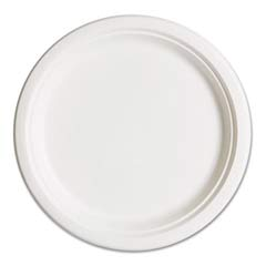 Compostable Sugarcane Dinnerware, 10