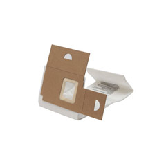 Vacuum Bags, Disposable, For Sanitaire Commercial Upright Vacuums, 18/Case EUR61820-6