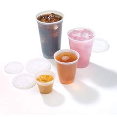 RK Crisscross Cold Drink Cups, 3oz, Clear FABRK3