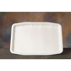 Supermarket Tray, Foam, 12 x 15.75 x .75, White GNP11216WH