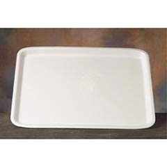 Supermarket Tray, Foam, White, 18 x 14, 100/Case GNP11418WH