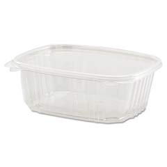 Clear Hinged Deli Container, Plastic, 32 oz, 7-1/4 x 6-2/5 x 2-5/8, 100/Bag GNPAD32