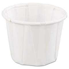 Paper Portion Cups, 3/4 oz., White, 250/Bag GNPF075