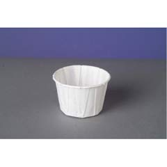 Paper Portion Cups, 2 oz., White, 250/Bag GNPF200
