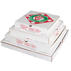 Takeout Container, 12in Pizza, White, 12w x 12d x 2 1/2h BOXPZCORE12