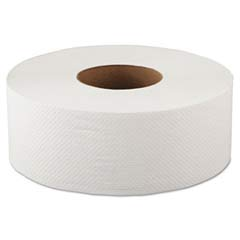 Jumbo Bathroom Tissue, 2-Ply, White, 500 ft. GEN10JUMBO