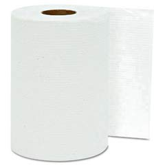 Hardwound Roll Towels, White, 8 x 350' GEN1800