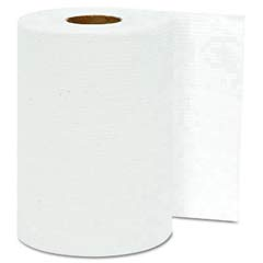 Hardwound Roll Towels, White, 8 x 300' GEN1803