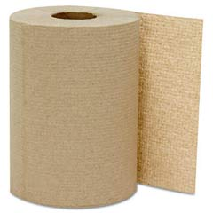 Hardwound Roll Towels, Kraft, 8 x 300' GEN1804