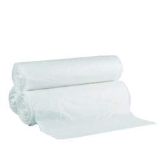 High-Density Can Liner, 43 x 46, 56-Gallon, 22 Micron Equivalent, Clear, 15/Roll GEN434622