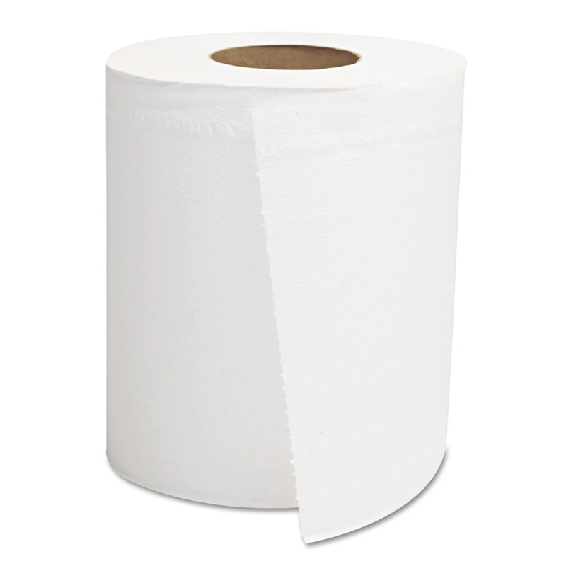 Center-Pull Roll Towels, 2-Ply, White, 8 x 10 GENCPULL