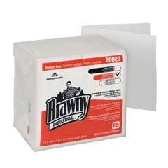 Medium-Duty DRC Wipers, Quarterfold - (18) 65 Wipes GPC200-23