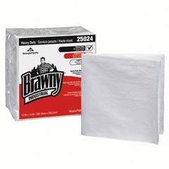 Heavy-Duty Quarterfold Shop Towels, 13 x 13, White, 70/Pack GPC250-24