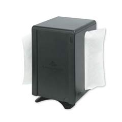 Tabletop Napkin Dispenser, M-Window, 5 3/4x4 3/4x7 7/10, Black GPC545-20