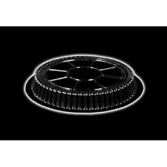 Clear Plastic Dome Lid, Round, Fits 9 inch Round Pan, 500/Case HFA2046DL