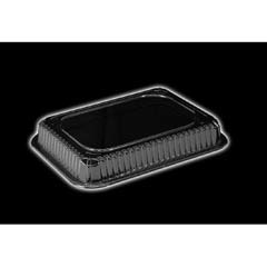 Clear Plastic Dome Lid, Rectangle, Fits 1 Pound Oblong Pan HFA2059DL