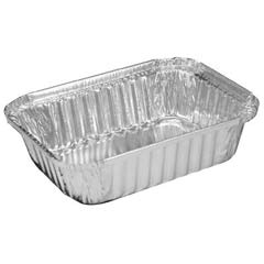 Aluminum Oblong Pan, 23.7 oz, 7 x 5-1/8 x 1-11/16 HFA206030