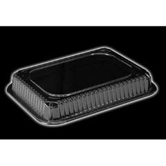 Clear Plastic Dome Lid, Rectangle, Fits 1-1/2 Lb Oblong Pan HFA2060DL