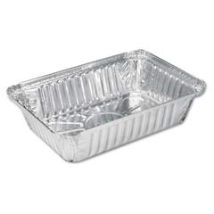 Aluminum Oblong Pan, 36 oz, 8-1/2 x 5-15/16 x 1-13/16 HFA206230