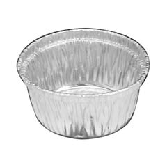 Aluminum Baking Container, Single Serving Cup-Size, 4 oz HFA34130