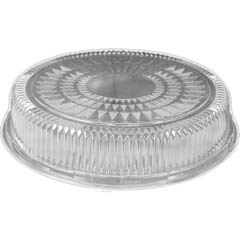 Plastic Dome Lid, Round, Embossed, 18 in, Fits 4018/4019, 25/Case HFA4018DL