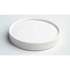 Vented Paper Lids, 16-32oz Cups, White HUH71871