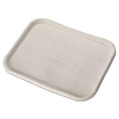 Savaday Molded Fiber Food Trays, 14 Inches x 18 Inches, White, Rectangular HUHFARM