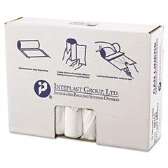 High-Density Can Liner, 33 x 39, 33-Gallon, 13 Micron Equivalent, Clear, 25/Roll IBSVALH3340N13