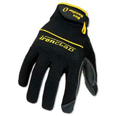 Box Handler Gloves, Pair, Black, X-Large IRNBHG05XL