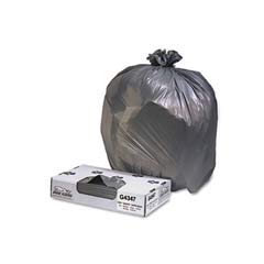 Low-Density Can Liner, 43 x 47, 56-Gallon, 1.7 Mil, Black, 100/Case JAGG4347HBL