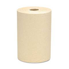 SCOTT 100% Recycled Fiber Hard Roll Towels, Natural, 8