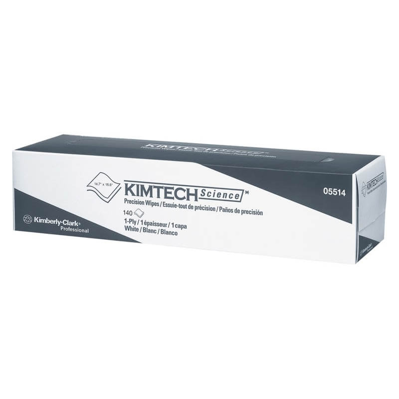KIMTECH SCIENCE Precision Wipes Tissue Wiper, 14 7/10 x 16 3/5 KCC05514