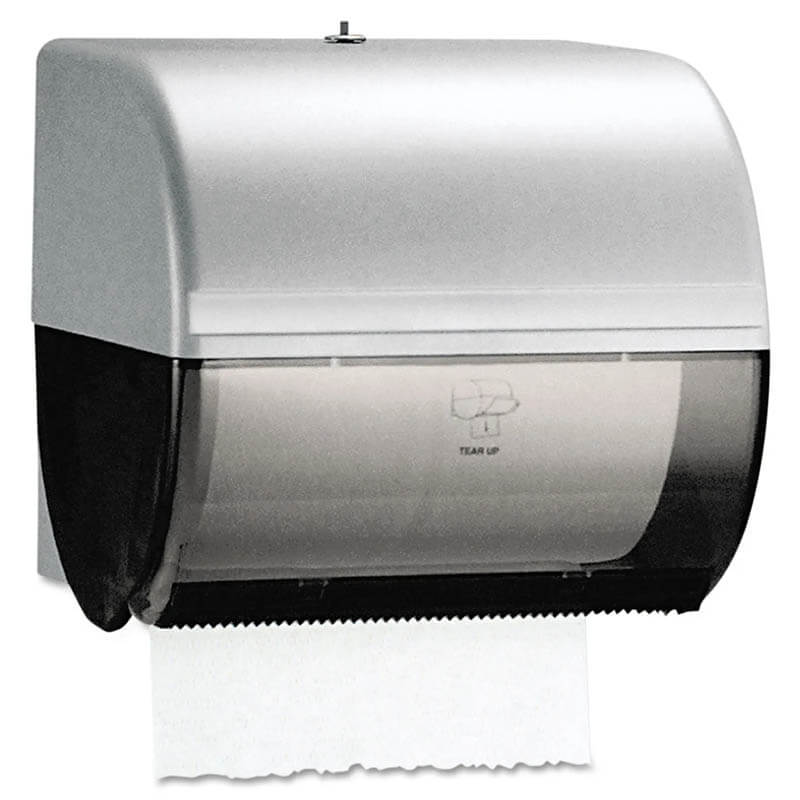 Omni Roll Paper Towel Dispenser, Smoke/Gray KCC09746