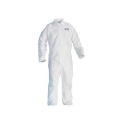 KLEENGUARD A20 EBC Coveralls, MICROFORCE SMS Fabric, White, XL KCC49104