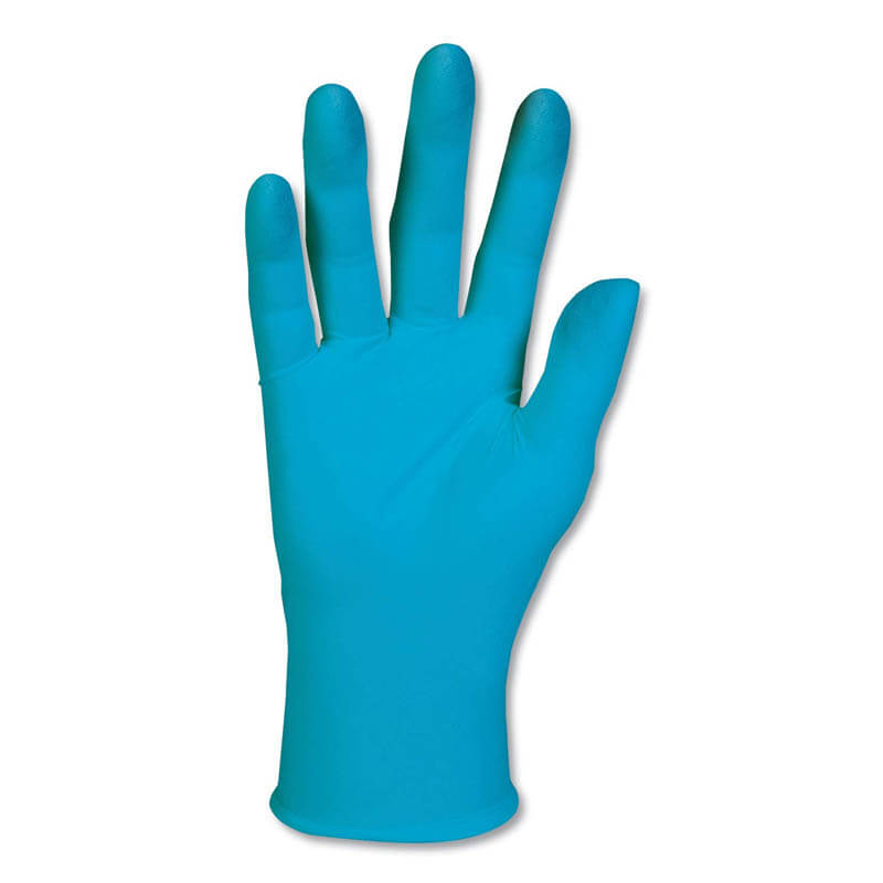 KLEENGUARD G10 Blue Nitrile Gloves, General Purpose, Small, 100/Box KCC57371