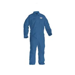 KLEENGUARD A20 Coveralls, MICROFORCE Barrier SMS Fabric, Denim, 2XL KCC58505