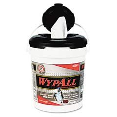 WYPALL Wipers in a Refillable Bucket, 10 x 13 KCC83561