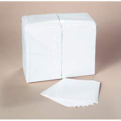 SCOTT 1/4-Fold Luncheon Napkins, 1-Ply, 12 x 12, White, 1,000/Bag KCC98120