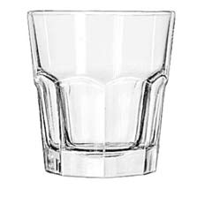 Gibraltar Drinking Glasses, Tall Rocks, 10 oz., 3-7/8 Inch Height LIB15232