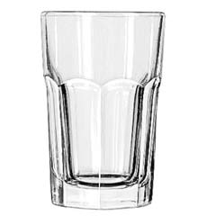 Gibraltar Drinking Glasses, Beverage, 10 oz., 4-3/4 Inch Height LIB15237