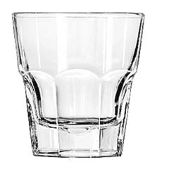 Gibraltar Drinking Glasses, Rocks, 8 oz., 3-5/8 Inch Height LIB15240
